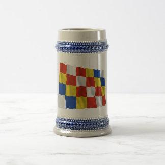Antwerp Waving Flag Coffee Mug