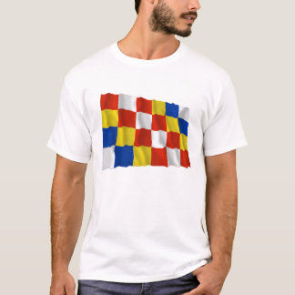 Antwerp Waving Flag T-Shirt