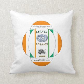 """ANU-CI Throw Pillow 20"""" x 20"""""""