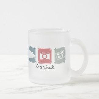 Anuario (cuadrados) taza de café