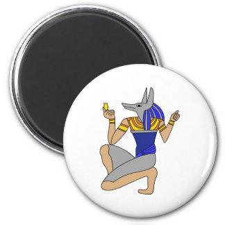 Anubis 2 Inch Round Magnet
