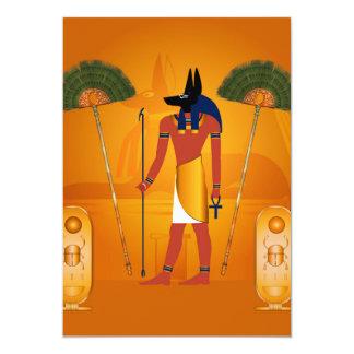Anubis, ancient Egyptian Card