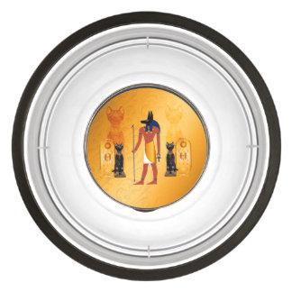 Anubis, ancient Egyptian god Bowl