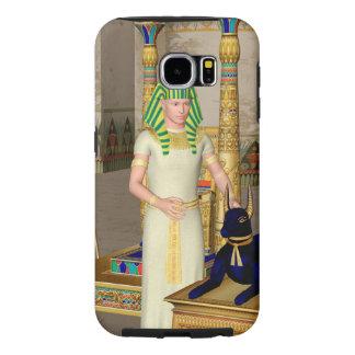 Anubis, ancient Egyptian god Samsung Galaxy S6 Cases