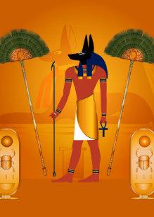 Anubis Symbol Invitations   Zazzle