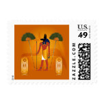 Anubis, ancient Egyptian Stamps