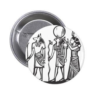 Anubis and Horus Pinback Button