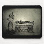 Anubis and Mummy mousepad