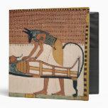 Anubis attends Sennedjem's Mummy 3 Ring Binders