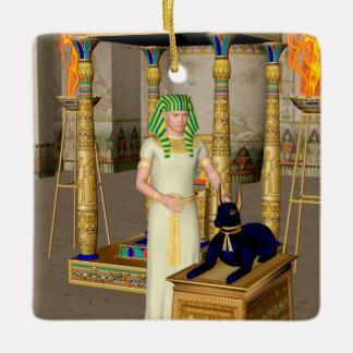 Anubis Ceramic Ornament