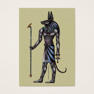 Anubis Chubby Business Card