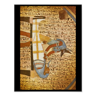 Anubis Concluding Mummification_Art of Antiquity Poster