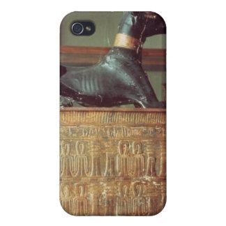 Anubis, dios egipcio de los muertos iPhone 4 cárcasas