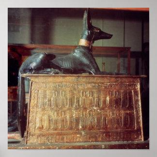 Anubis dios egipcio de los muertos impresiones