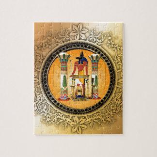 Anubis, egypt jigsaw puzzle