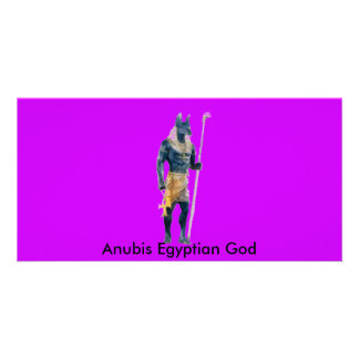 Anubis Egyptian God Card