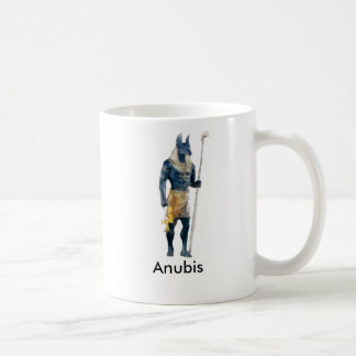Anubis Egyptian God Coffee Mug