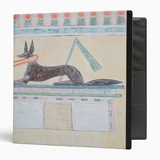 Anubis Egyptian god of the dead Binder
