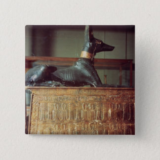 Anubis, Egyptian god of the dead Pinback Button