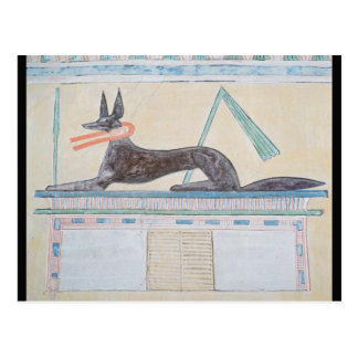 Anubis Egyptian god of the dead Postcards