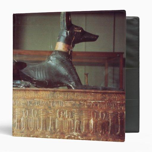 Anubis, Egyptian god of the dead Vinyl Binders