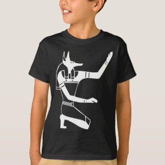 Anubis, Egyptian hieroglyph T-Shirt