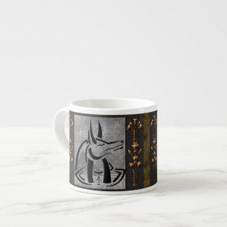 Anubis Espresso Mug 6 Oz Ceramic Espresso Cup