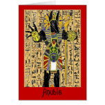 Anubis Giving Life Forever Card