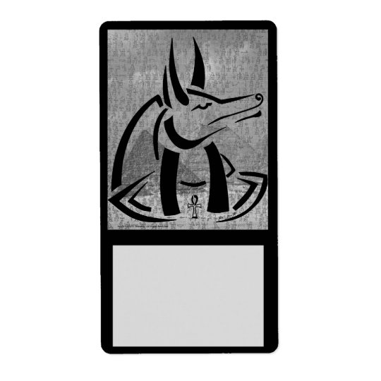 Anubis Identifier Label