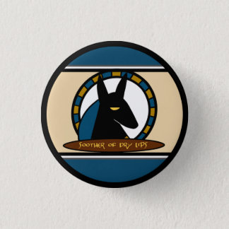 Anubis Lip Balm Button