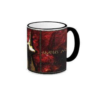 Anubis Mystery Ringer Coffee Mug