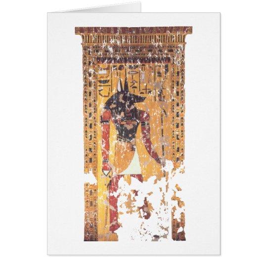 Anubis-Nefertari Card