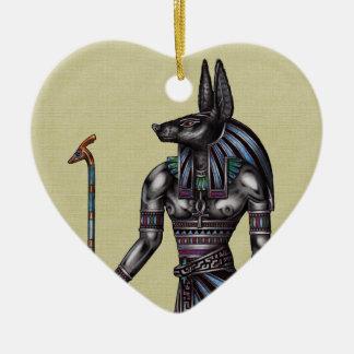 Anubis Ornament Heart