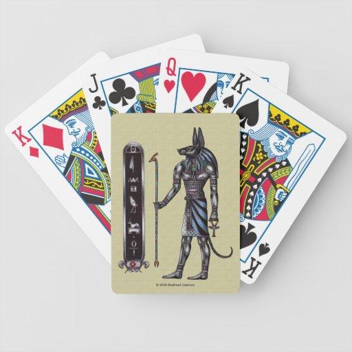 Anubis Playing Cards