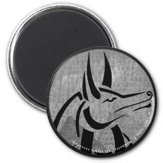 Anubis Round Magnet