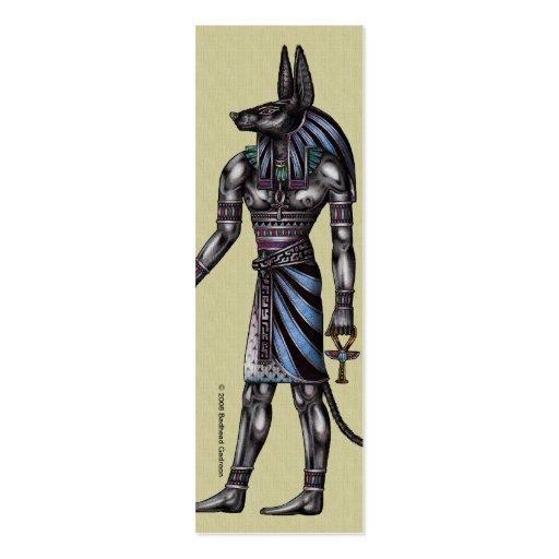 Anubis Skinny Profile Card Business Cards