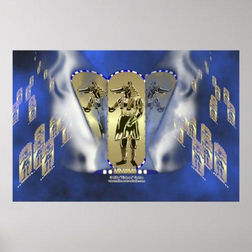 Anubis Smokes Poster
