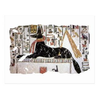 Anubis Tarjeta Postal