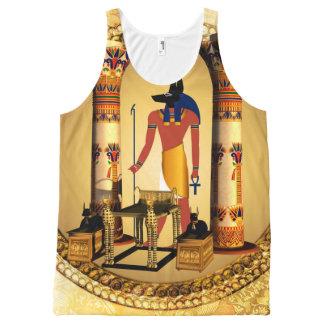 Anubis the egyptian god All-Over print tank top