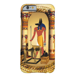 Anubis, the egyptian god barely there iPhone 6 case
