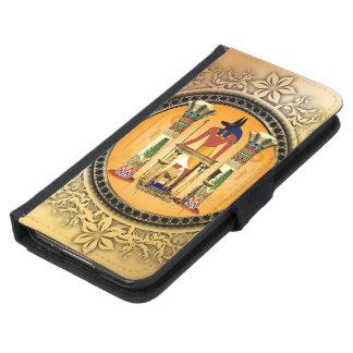 Anubis the egyptian god samsung galaxy s5 wallet case