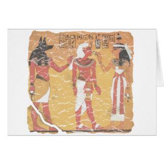 Anubis, Tut, Osiris Card