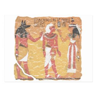Anubis, Tut, Osiris Postcard
