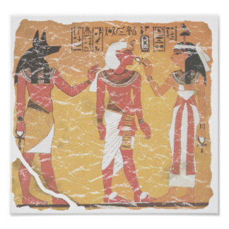 Anubis Tut Osiris Posters