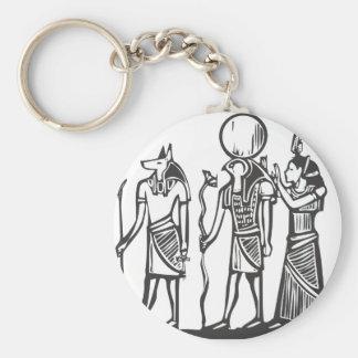 Anubis y Horus Llaveros