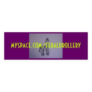 Anuddah FD card Double-Sided Mini Business Cards (Pack Of 20)