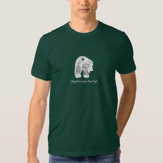 Anuk Climate Bear Skeptics are Tasty Dark T Shirt