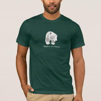 Anuk Climate Bear Skeptics are Tasty Dark T-Shirt