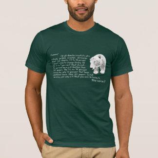 Anuk Polar Bear T-shirt 97 to 98 percent dark