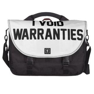 Anulo garantías bolsas de portatil